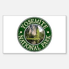 Yosemite Nat Park Design 2 Decal