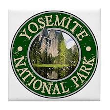 Yosemite Nat Park Design 2 Tile Coaster