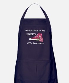 Walk a Mile in My Shoes Apron (dark)