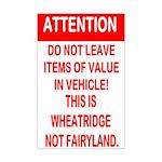 Not Fairyland Mini Poster Print