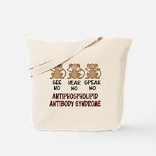 See No, Hear No, Speak No APS Tote Bag