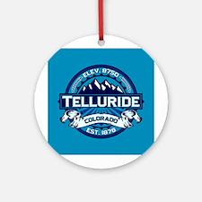 Telluride Ice Ornament (Round)