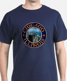 Chicago, IL - Design 1 T-Shirt