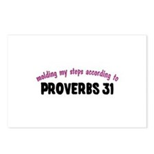 Molded by Proverbs 31 Postcards (Package of 8)