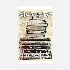 Elsewhere Books Sticker (Rectangle)