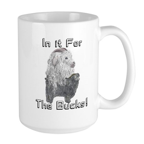 GOAT-ANGORA-BUCK Large Mug