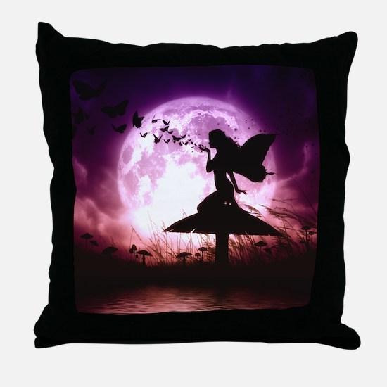 Butterfly Keeper Throw Pillow