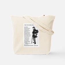 Reenactor Tote Bag