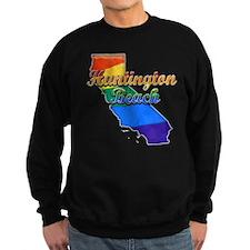 Huntington Beach, California. Gay Pride Sweatshirt