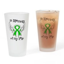 In Memory Bile Duct Cancer Drinking Glass