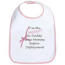 Present from daddy-Girl Bib