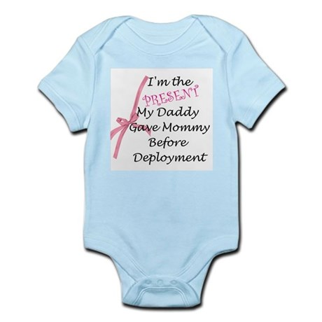 Present from daddy-Girl Infant Bodysuit