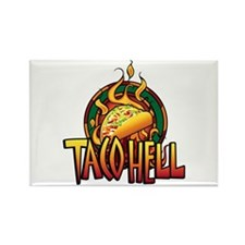 Taco Hell Rectangle Magnet