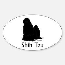 Shih Tzu Silhouette Decal
