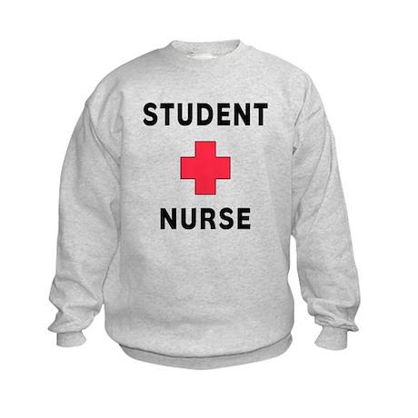 Student Nurse Kids Sweatshirt