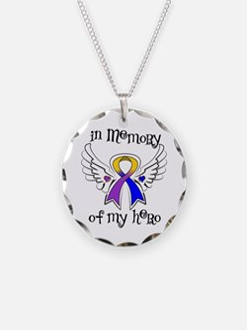 In Memory Bladder Cancer Necklace