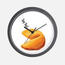Fortune Cookie - Say Yes! Wall Clock