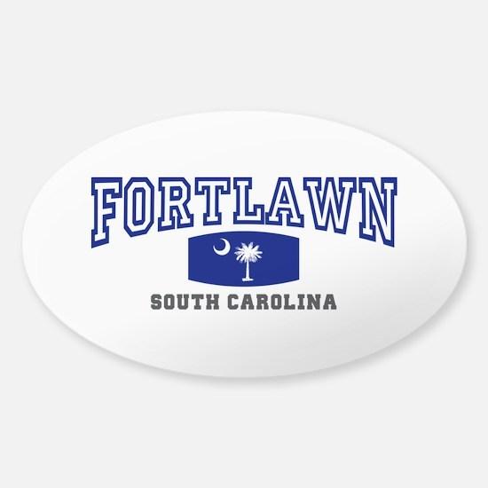 Fort Lawn South Carolina, SC, Palmetto State Flag