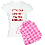 If You Can Read This Women's Light Pajamas