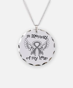 In Memory Brain Cancer Necklace