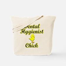Dental Hygienist Chick Tote Bag