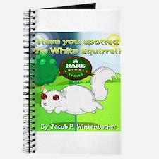 Cute White squirrel Journal