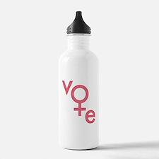 Vote Gender Symbol Water Bottle