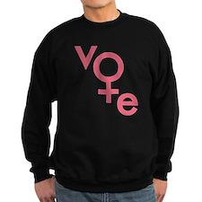 Vote Gender Symbol Sweatshirt