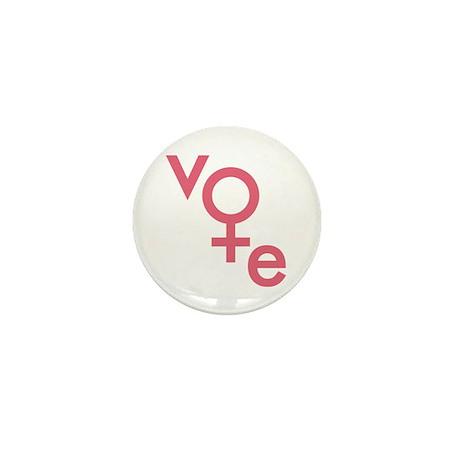 Vote Gender Symbol Mini Button