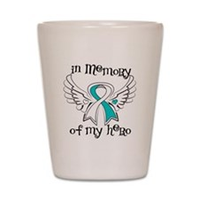 In Memory Cervical Cancer Shot Glass