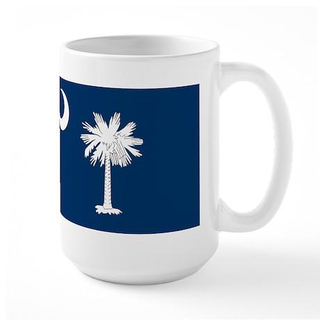 South Carolina Flag Large Mug