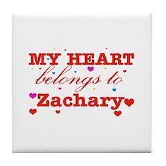 I love Zachary Tile Coaster