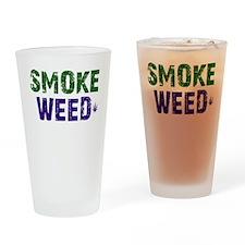 Smoke Weed Drinking Glass