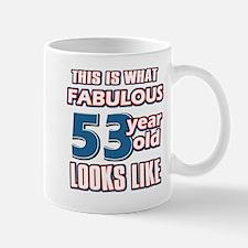 Cool 53 year old birthday designs Mug