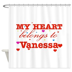 I love Vanessa Shower Curtain
