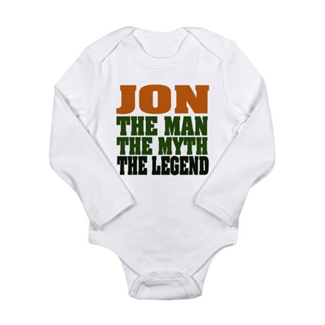 JON - The Legend Long Sleeve Infant Bodysuit
