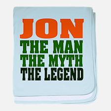 JON - The Legend baby blanket