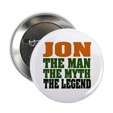 "JON - The Legend 2.25"" Button"