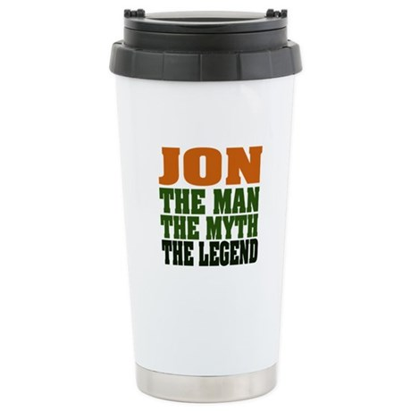 JON - The Legend Stainless Steel Travel Mug