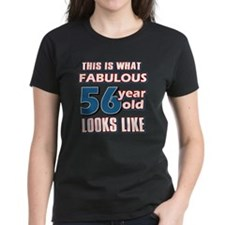 Cool 56 year old birthday designs Tee