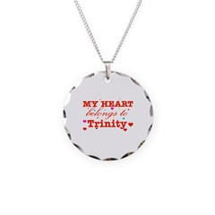 I love Trinity Necklace