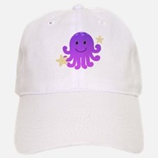 Purple Octopus Baseball Baseball Cap