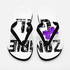 Zombie Girl Flip Flops