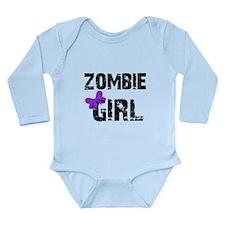 Zombie Girl Long Sleeve Infant Bodysuit