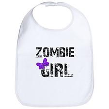 Zombie Girl Bib
