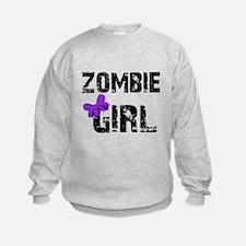 Zombie Girl Sweatshirt