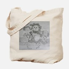 Rag Doll Raggedy Ann Tote Bag