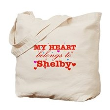 I love Shelby Tote Bag