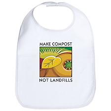 Make Compost, Not Landfills Bib