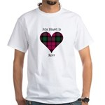 Heart - Kerr White T-Shirt